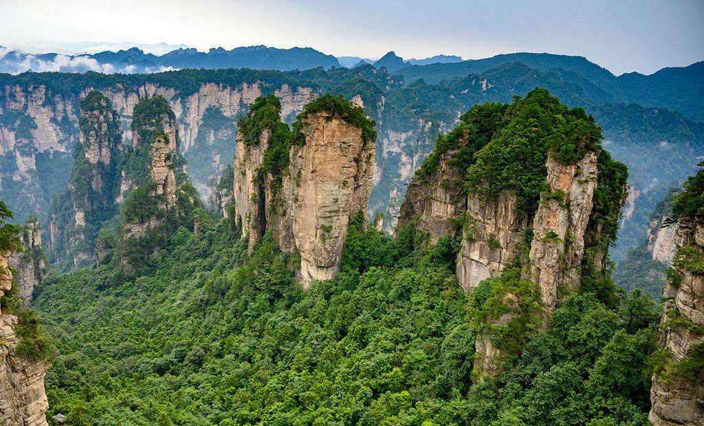 Mejor epoca para viajar a Zhangjiajie | Tiempo y Clima. 3 meses para evitar